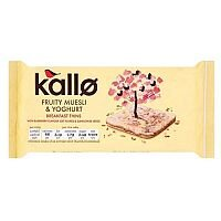 Kallo Gluten-free Rice Cake Thins Muesli and Yoghurt 90g Ref A07901