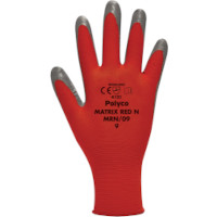 Juba Gloves Nitrile Foam Coated 15 Gauge Red/Black Size 9 M/L-Men or XXL-Women Pack 1 Ref 303188090