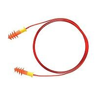 Keepsafe Corded Ear Plugs 30dB Moulded Reusable Orange [Pack 200]