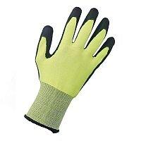 Keepsafe Safety Gloves PU Coated Green/Black Size 9 M/L-Men or XXL-Women Pack 1 Ref 303620090