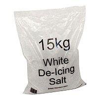 White De-icing Salt (15kg) 72 x 15kg Bags of Salt