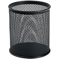 Wire Mesh Pencil Holder - Black