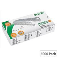 Leitz  6mm  26/6 Power Performance P3 Staples  1 x Box of 5000