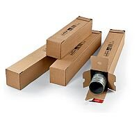 Postal Tubes Long Box Section (Pack 10)