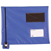 Blue A4 Flat Mail Pouch 285mm x 345mm 127224