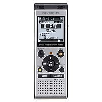 "Olympus WS-852 Digital Stereo Voice Recorder 4 GB Memory MP3 Built-In USB Key Silver. ""Auto Mode"" Evens The Volume From The Sound Source. The Input Level is Reduced For Louder Volumes, & Decreased For Lower Volumes. Easy To Slot Into PC Or Mac For Easy Da"
