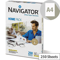 Navigator  A4  Homepack Paper 80gsm 250 Sheets  White