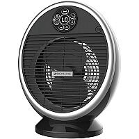 Bionaire Digital Fan Heater Oscillating 2 Heat Settings and Fan-only Setting 2.2kW Ref BFH004