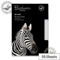 Blake A4 120gsm High White Premium Paper 50 Sheets 39676