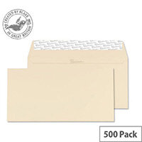 Blake Cream DL Premium Business Wove Wallet Envelopes 120gsm Pack of 500