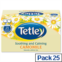 Tetley Tea Bags Camomile Smile Pack 25