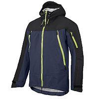 Snickers 1300 FlexiWork Stretch Waterproof Shell Jacket Navy/Black