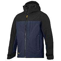 Snickers 1303 AllroundWork Waterproof Shell Jacket Navy/Black