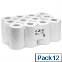 Enigma Mini Centre Feed Dispenser Roll Hand Towel Single Ply 130m White Pack 12