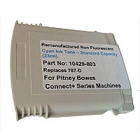 Totalpost Franking Inkjet Cartridge  Cyan  for Pitney Bowes Connectplus Series