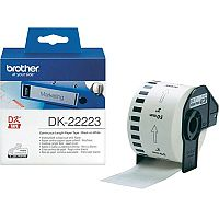 Brother P-touch DK-22223  50mm x 30.5m  Continuous Paper Tape  White