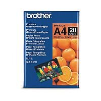 Brother A4 Glossy Innobella Premium Photo Paper (Pack of 20)