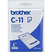 Brother C-11 A7 74 x 105 mm Thermal Paper 50 Sheets