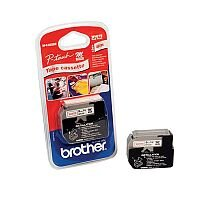 Brother P-touch M-K222BZ 9mm x 8m Red on White Plastic Labelling Tape