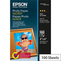 """Epson 6x4"""" Glossy Photo Paper 200gsm (Pack of 100)"""