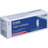 Epson S050612 Magenta Toner Cartridge High Capacity C13S050612 For AcuLaser C1700 Series Colour Laser Printers - Print Up To 1,400+ Pages!