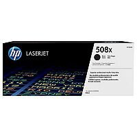 HP 508X (Yield 12,500 Pages) High Yield Black Original LaserJet Toner Cartridge for Color LaserJet Enterprise M552dn/M553dn/M553n/M553x Printers CF360X