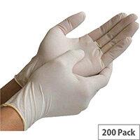 Exam Gloves Nitrile Powder-Free Small (100 Pairs)