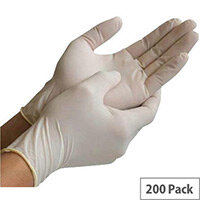 Exam Gloves Nitrile Powder-Free Medium (100 Pairs)