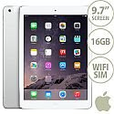 Apple iPad Air 2 Tablet PC 16GB WiFi + Cellular iOS 8.0 Silver SIM Included