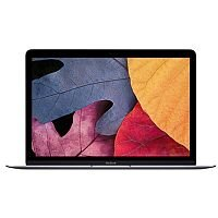 Apple MacBook with Retina Display (12 inch) Notebook Core M (1.2GHz) 8GB 512GB Solid State Drive WLAN BT Webcam Mac OSX Yosemite (Intel HD Graphics 5300) Space Grey
