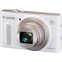 Canon PowerShot SX610 HS (20.2MP) Wifi Digital Camera 18x Zoom 3.0 inch LCD (White)