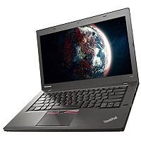 Lenovo ThinkPad T450 (14.0 inch) Notebook Core i3 (5010U) 2.1GHz 4GB (1x4GB) 500GB 8GB Flash WLAN BT Webcam Windows 7 Pro 64-bit/Windows 8.1 Pro 64-bit RDVD (Intel HD Graphics 5500)