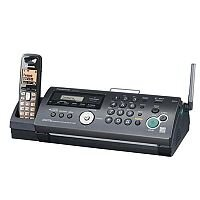 Panasonic KX-FC265E-T Plain Paper Fax Machine with Integrated DECT Handset