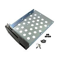 QNAP Hard Drive Tray with Lock for TS Series NAS Servers 2.5/3.5 inch Hard Disk Drives (Silver)