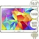 Samsung Galaxy Tab S SM-T805 (10.5 inch) Tablet Cortex Exynos 5 Octa-Core (5410) 1.9GHz+1.3GHz 3GB 16GB WiFi 3G 4G LTE BT Camera Android (White)