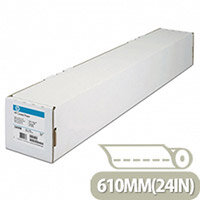 HP 610mm x 45m Coated Plotter Paper Roll 98gsm Ref C6019B
