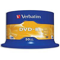 Verbatim DVD-R 4.7GB 16x Matt Silver (Pack of 50)