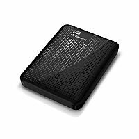 WD My Passport (2TB) USB 3.0 Portable Hard Drive (Midnight Black)