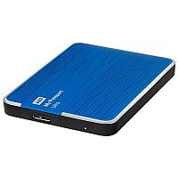 WD My Passport Ultra 500GB USB 3.0 Portable Hard Drive (Blue)