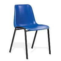 Polypropylene Stacking Chair Blue Trexus