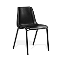 Polypropylene Stacking Chair Black Trexus