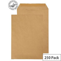 Purely Everyday Manilla Gummed Pocket C4 324x229mm (Pack of 250)