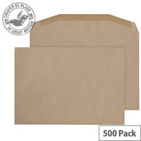 Purely Everyday Mailer Gummed Manilla 80gsm C5- 155x220mm (Pack of 500)