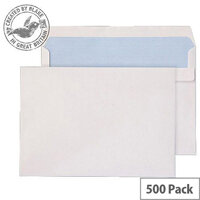 Purely Everyday White Self Seal Wallet C5 162x229mm (Pack of 500)