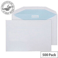 Purely Environmental Mailer Gummed White 90gsm C5 162x229mm (Pack 500)