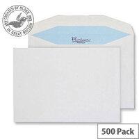 Blake Premium Postfast Mailing Wallet Gum White C5 162x229 90gsm (Pack of 500)