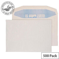 Purely Environmental Mailer Gummed White 90gsm C5 162x229mm Ref RN020 (Pack of 500)