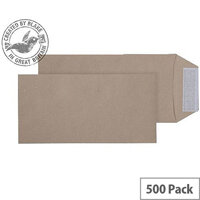 Purely Everyday Pocket P&S Manilla 115gsm DL 220x110mm (Pack of 500)
