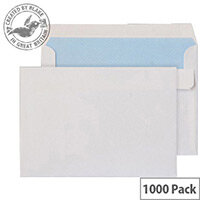 Purely Everyday White Wallet C6 (Pack of 1000)