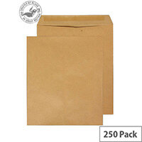 Purely Everyday Manilla Envelopes 90gsm Gummed Pocket 330x279mm Pack of 250